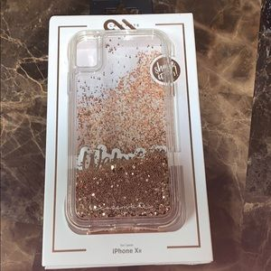 Casemate , waterfall case in gold for iPhone XR